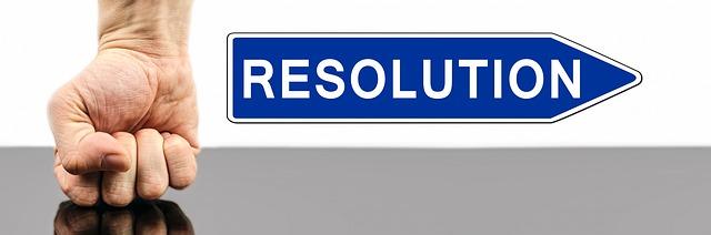 image symbole de bonnes résolutions