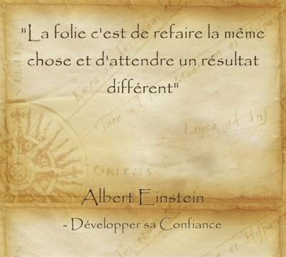 citation Einstein sur l'importance d'oser