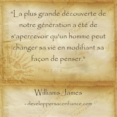 citation que la loi d'attraction qui prouve que nous avons le pouvoir de changer notre destinée !