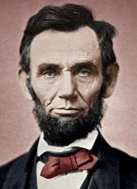 Photo du Président américain Abraham Lincoln