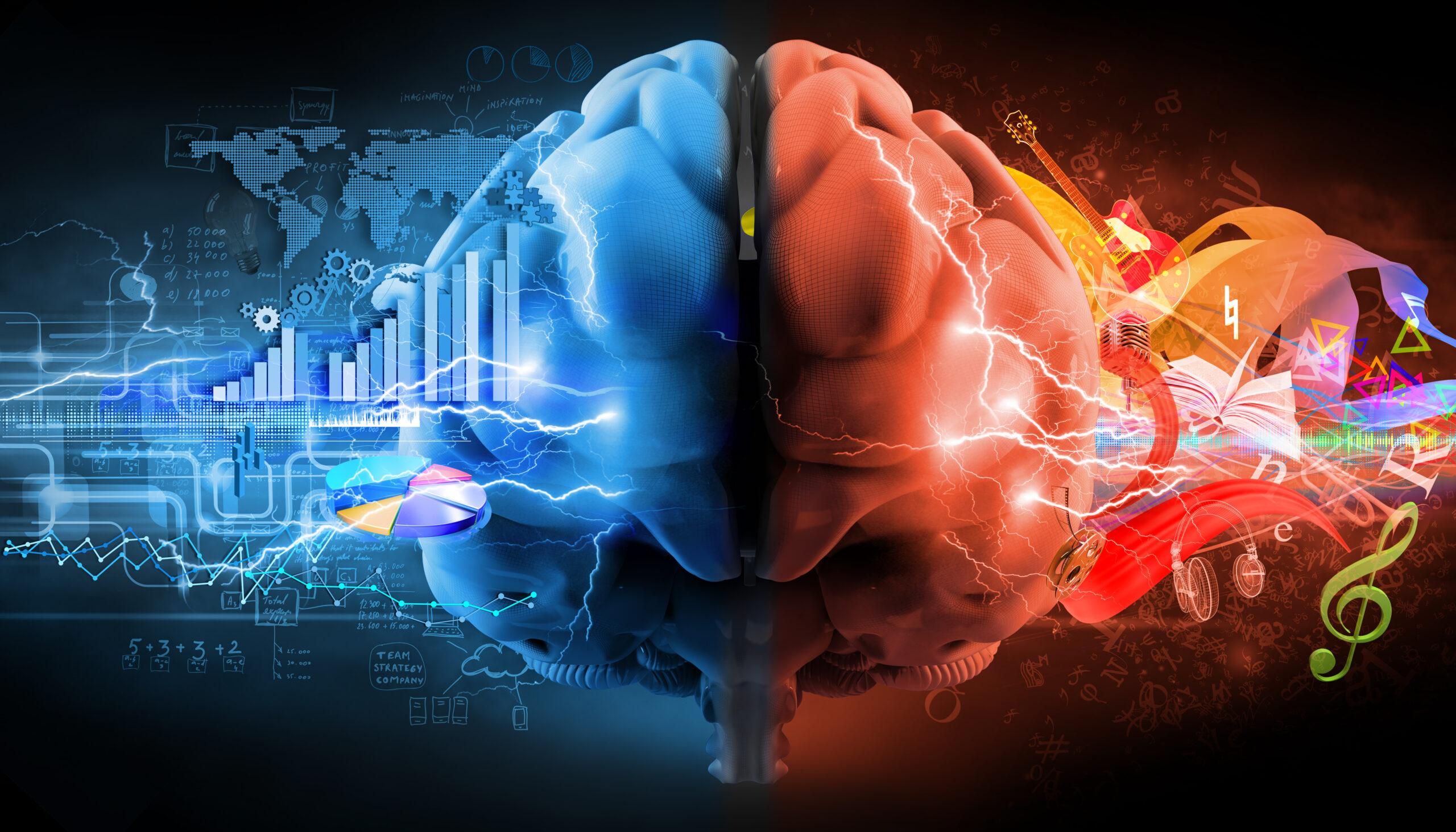 Image symbole des capacités cérébrales