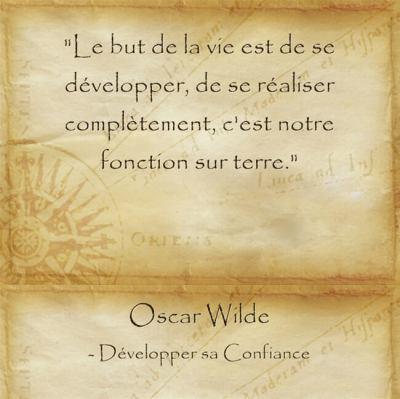 Citation d'Oscar Wilde pour s'accepter tel qu'on est
