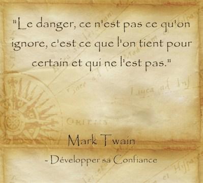 citation sur le sens de la vie de Mark Twain