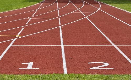 Piste d'athlétisme