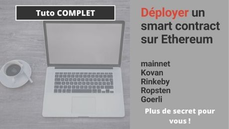deployer un smart contract sur ethereum