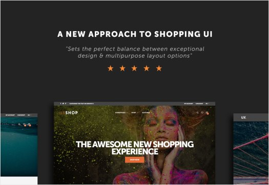 A new approach to shopping UI