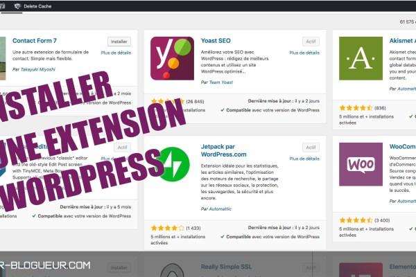 Vidéo : installer un plugin sur WordPress ?