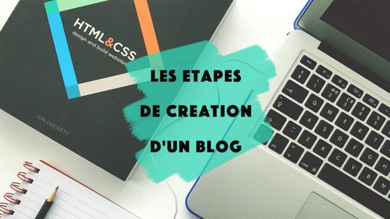 Les étapes pour créer un blog