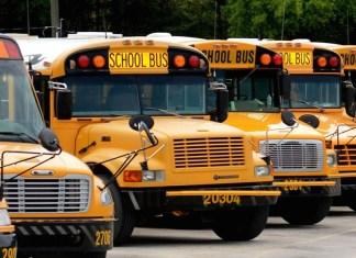 School bus des écoles internationales