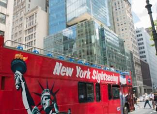 Bus touristique à New York