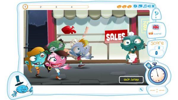 Capture d'écran du jeu Zombie Shop