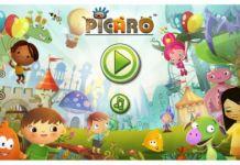 Capture d'écran de la plateforme Picaro
