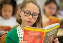 Séance lecture à l'Ecole Jeannine Manuel