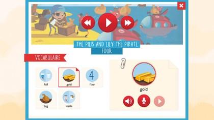 Copie d'écran de l'application
