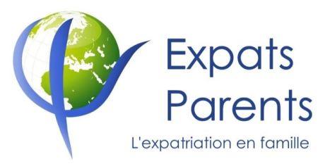 Logo Expats Parents, l'expatriation en famille