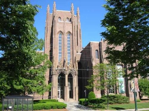 Le Peabody museum, université américaine de Yale