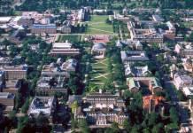 Campus aux Etats-Unis, exemple d'Urbana Champaign