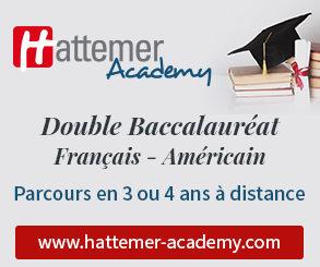 Double Baccalauréat français américain - parcours en 3 ou 4 ans à distance