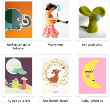 Des comptines en français sur Momes.fr