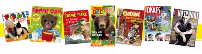 Magazines pour enfants Bayard-Milan