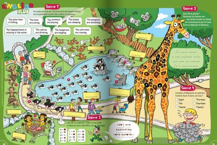 I Love English Kids - Exemple de jeu de vocabulaire