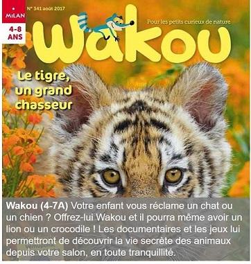 Wakou un magazine pour les 4-7 ans