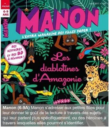 Manon, un magazine pour les 6-9 ans