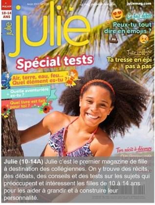 Julie, un magazine pour les 10-14 ans