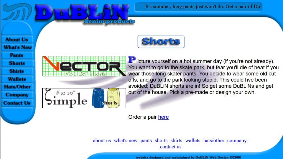 dublin denim online store