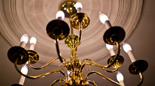 modest chandelier