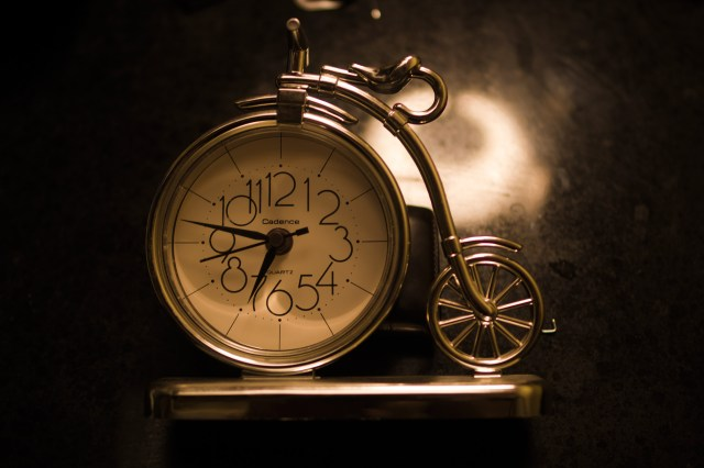 cycle clock xmas present from my sister