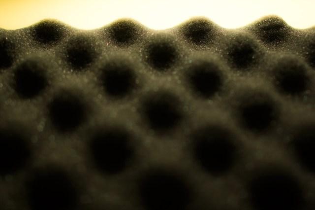 dunes from foam