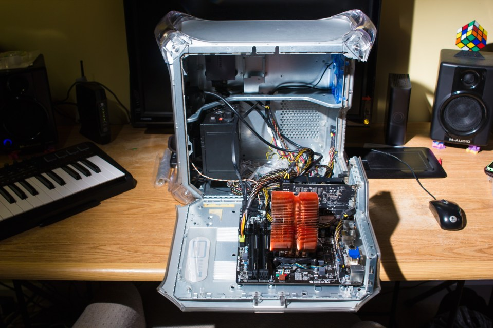 inside my G4 quicksilver windows PC