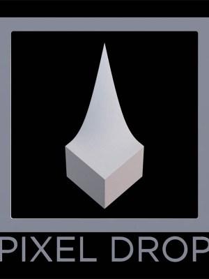 pixel drop logo fool me twice