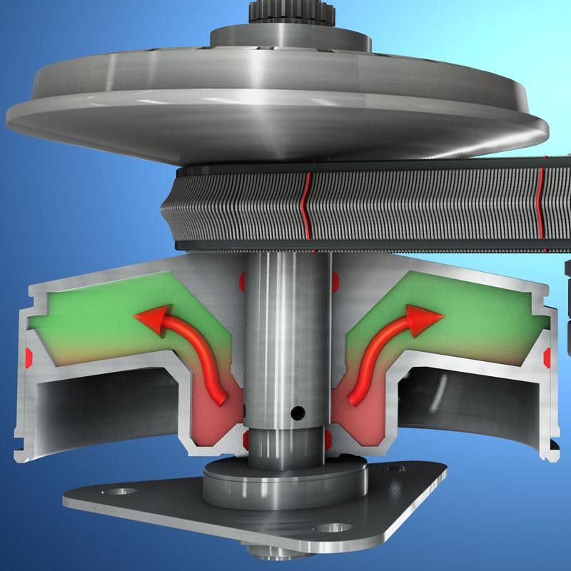 afton chemical engine transmission animation