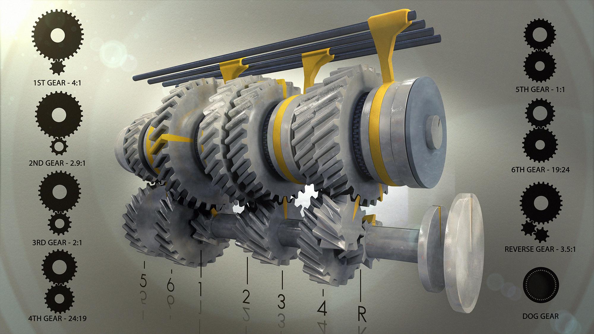 6 Speed Transmission Gear Ratios – DEVEN JAMES LANGSTON