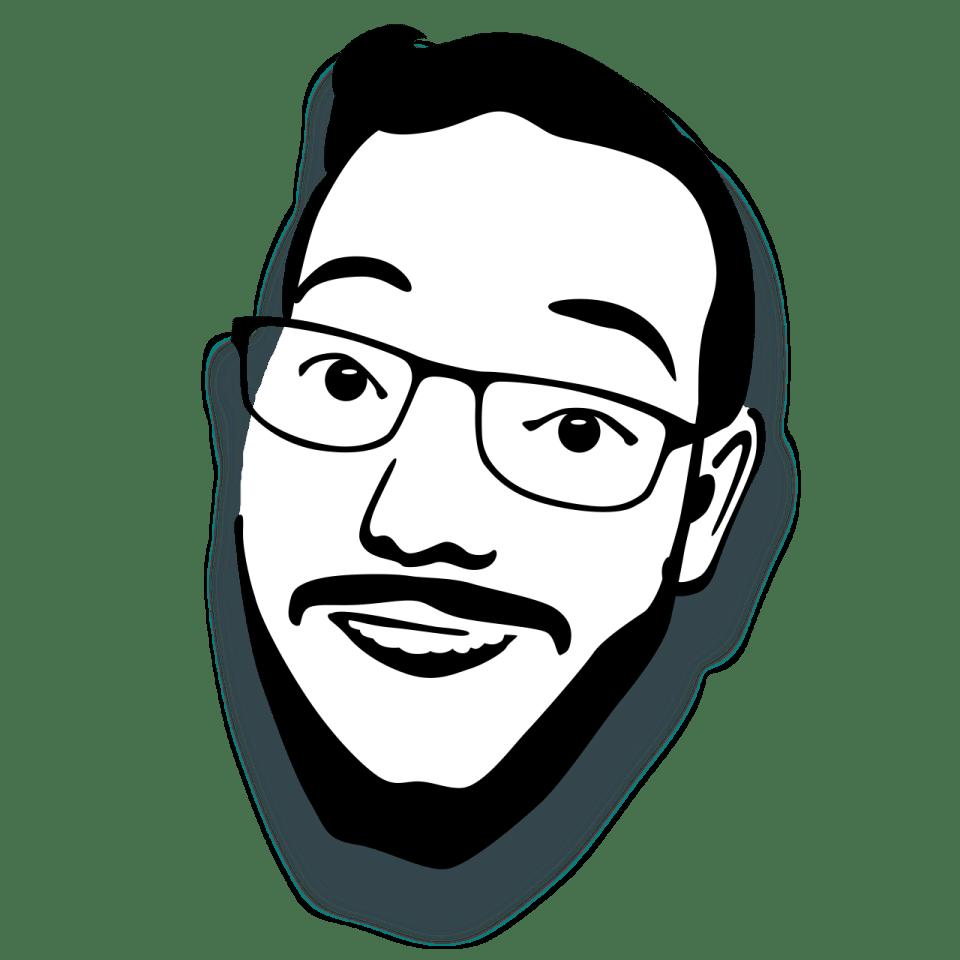 deven james langston face logo