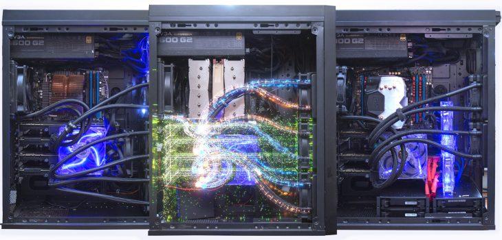 11 GPU Octane rendering rig