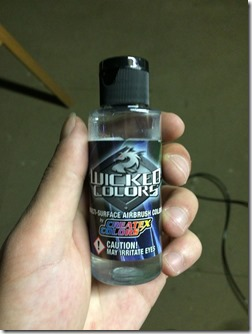 Diluant Reducer Wicked Colors Aérographe
