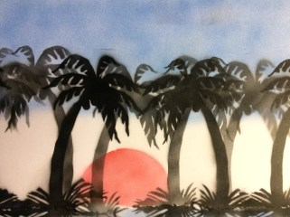 Paysage Tropical - By Quentin Moreau