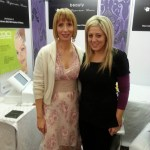 Lindsay with Aisling O'Loughnan
