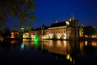 Hofvijver binnenhof Den Haag