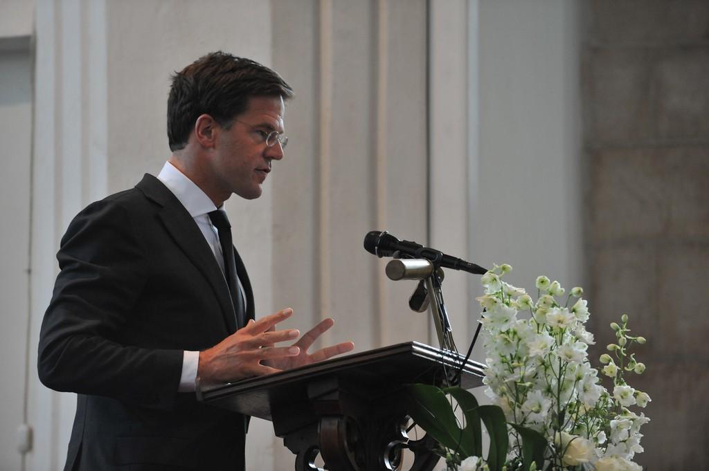Mark Rutte definitief lijsttrekker VVD