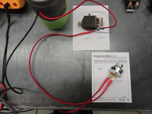small resolution of let s first examine a 6 volt motor using a 12 volt power system w voltage reducer