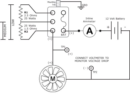 small resolution of ammeter wiring car