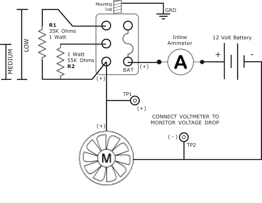 hight resolution of 12 volt ammeter wiring diagram