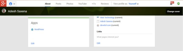 Google Plus Authorship Links