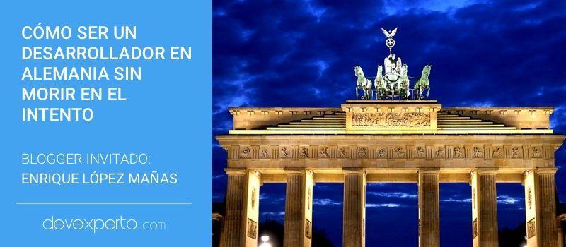 Cómo conseguir ser un desarrollador en Alemania sin morir en el intento