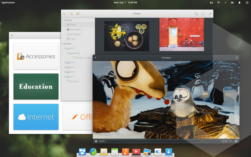 linux elementary os