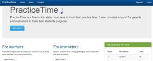 Practice Time Header